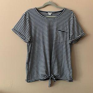 J. Crew Striped T-shirt